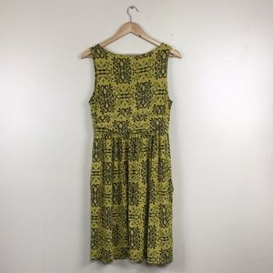 fresh produce Dresses - Fresh Produce Yellow V-Neck Comfy Sleeveless Dress